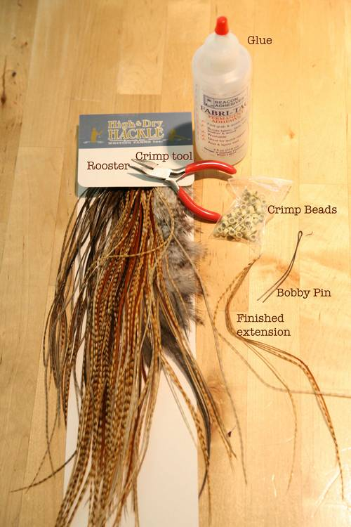 Feather Hair Extensions Diy 83