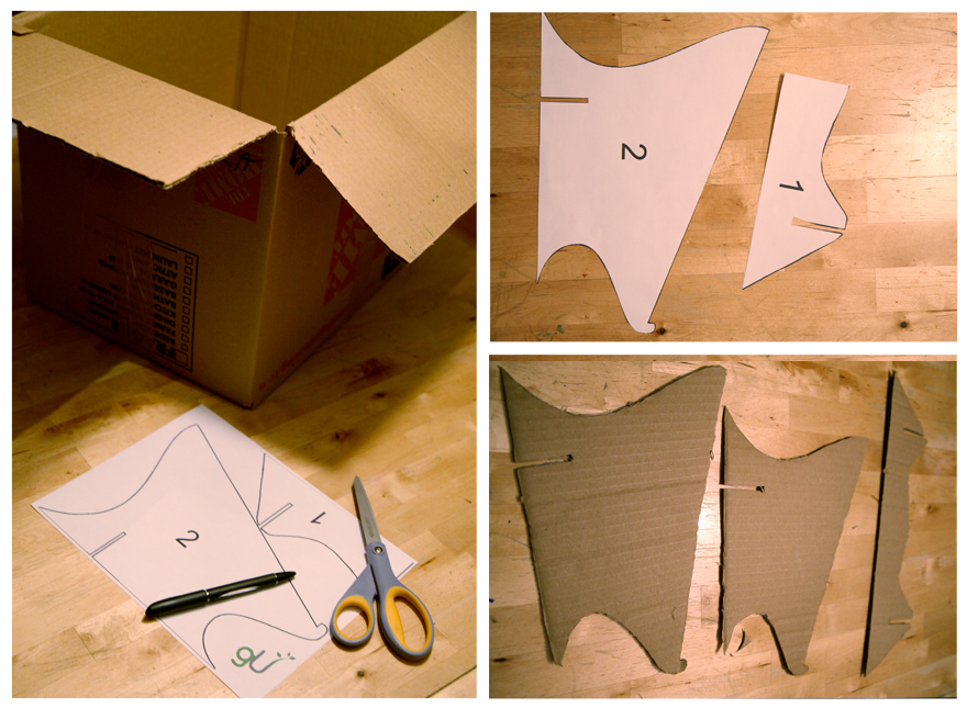 DIY recycled Cardboard Laptop Stand (2/3)
