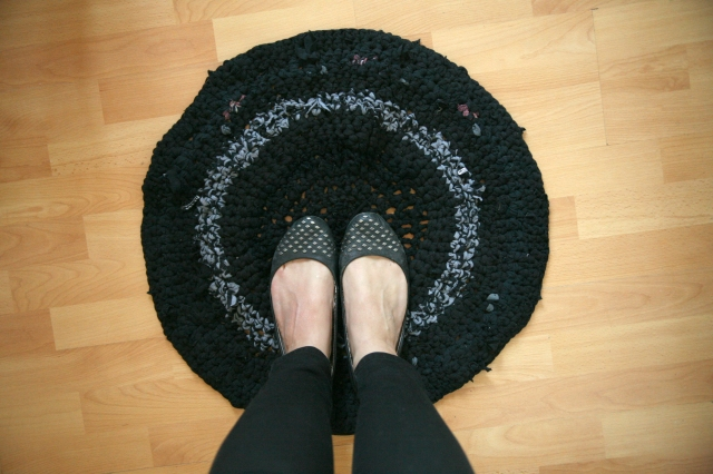 Crochet T-Shirt Yarn Rug