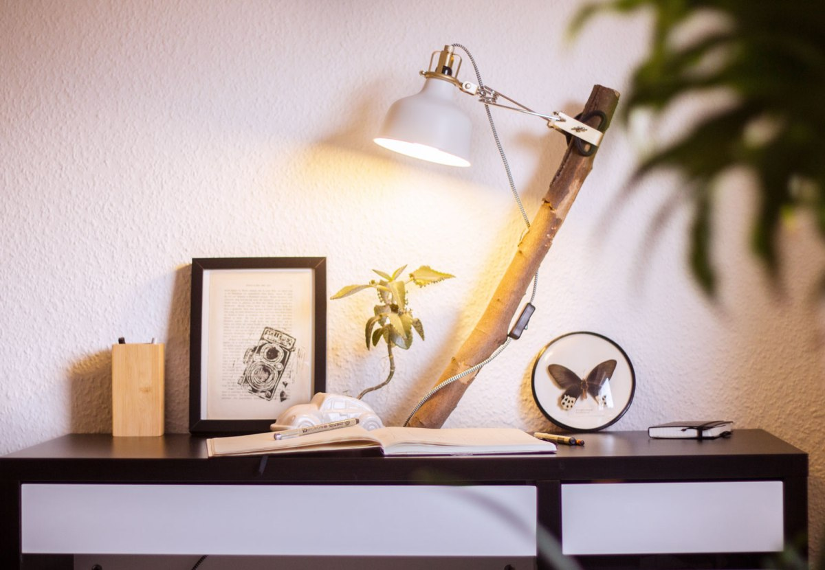 Ikea Hack desk lamp